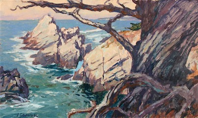 Cove of the Ancients 7x12 sold