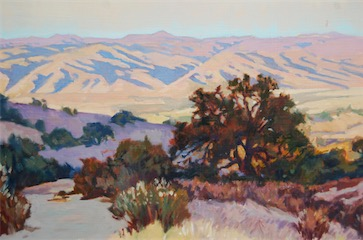 View of Salinas Valley 12x18 sold