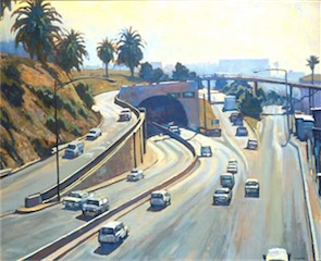 HIGHWAY 1 SANTA MONICA PIER 30X36 sold