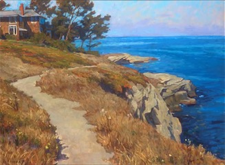 CLIFF PATH30X40 sold